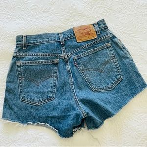 RARE Levi's Vintage 550 High Waisted Denim Shorts